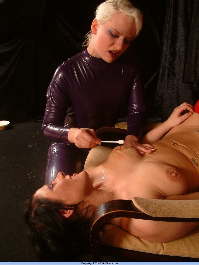 Lesbian mistress punishment for that